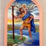 """"""" SAN CRISTOFORO""""  - Tecnica: mosaico , cm 200x300"""